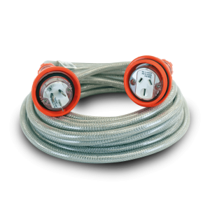 EXTENSION LEADS HEAVY DUTY BRAIDED